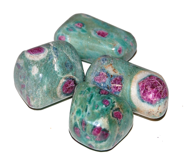Ruby Fuchsite Once Upon A Silver Moon